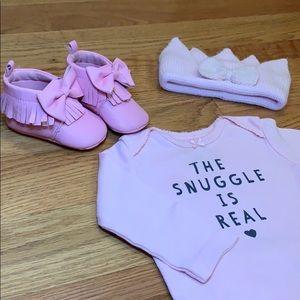 0-6 month Baby Girl Set